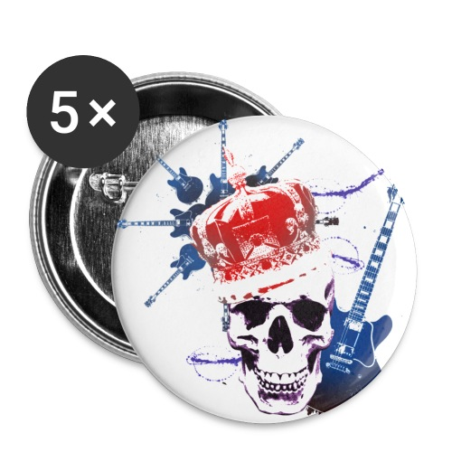 King of rock - Buttons small 1'' (5-pack)