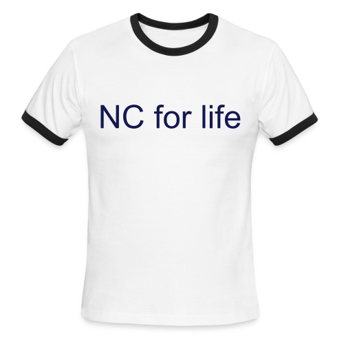 NC for life - Men's Ringer T-Shirt