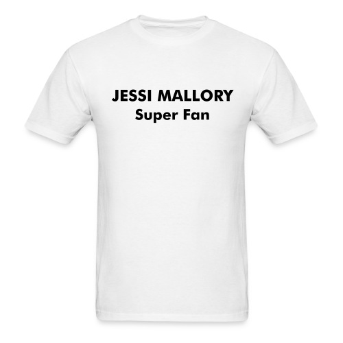 Official Jessi Mallory Men's T -Super Fan - Men's T-Shirt