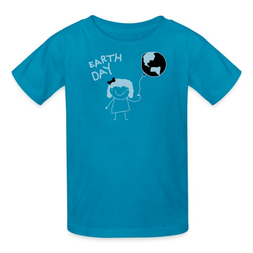 Kids Earth Day Tee - Kids' T-Shirt