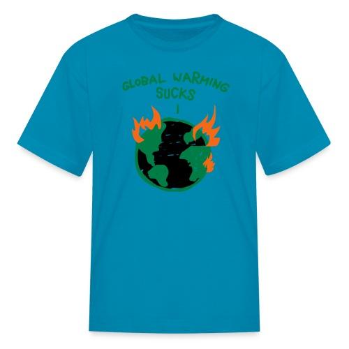Kids Global Warming Tee - Kids' T-Shirt