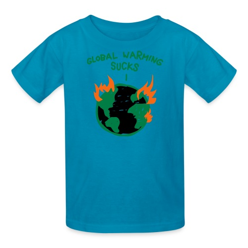 Kids Global Warming Tee - Kids' T-Shirt
