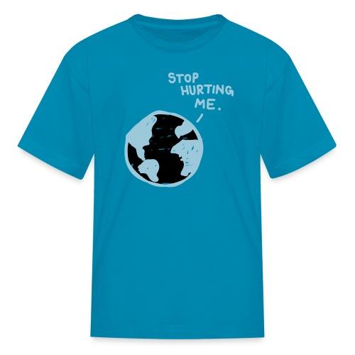 Kids Hurting Planet Tee - Kids' T-Shirt