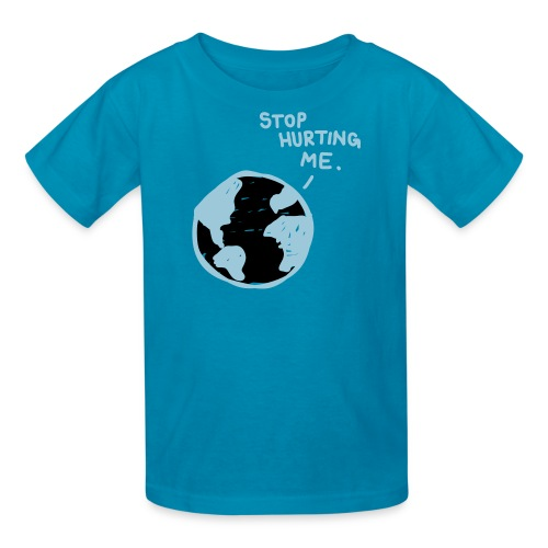 Kids Hurting Planet Tee - Kids' T-Shirt