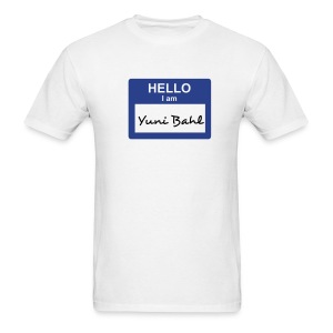 Yuni Bahl - Men's T-Shirt