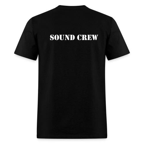 Back:SoundCrew - Men's T-Shirt