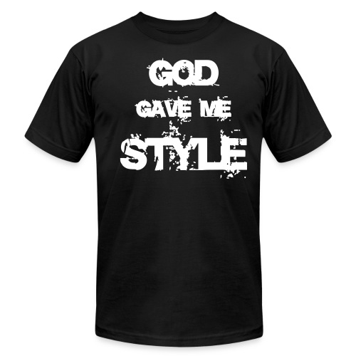 GOD GAVE ME STYLE - Men's Fine Jersey T-Shirt