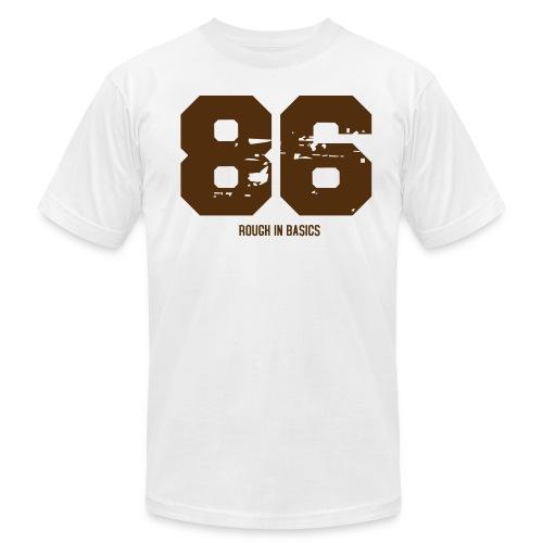 86 ROUGH IN BASICS - Men's Fine Jersey T-Shirt