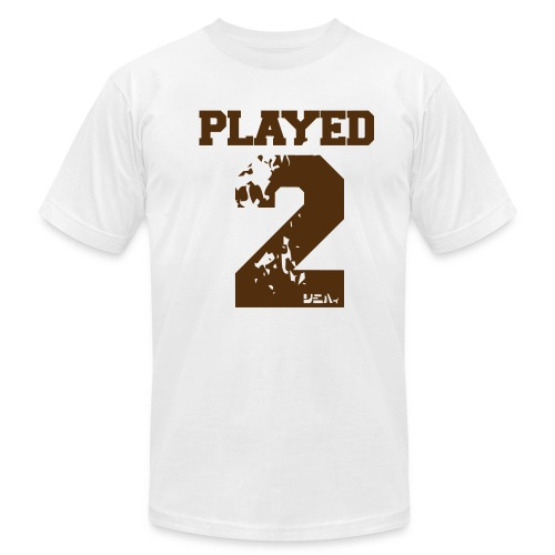 PLAYED 2 - Men's  Jersey T-Shirt