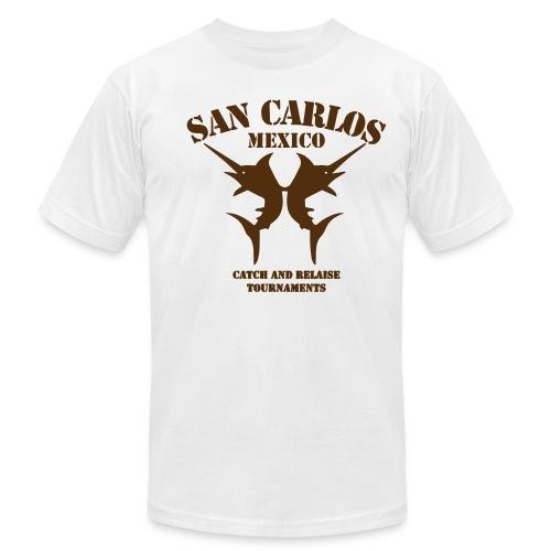 SAN CARLOS MEXICO - Men's Fine Jersey T-Shirt