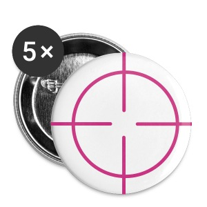 Target Button Pink - Small Buttons