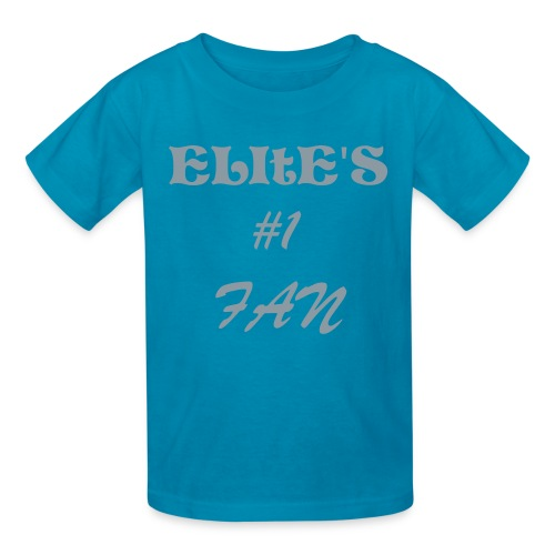 girl elite's #1 fan T - Kids' T-Shirt