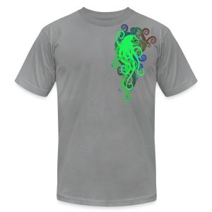 Graphic Octopus - Men's T-Shirt by American Apparel