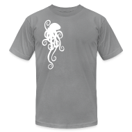 T-Shirts ~ Men's T-Shirt by American Apparel ~ Simple Octopus
