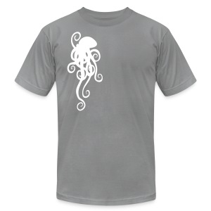 Simple Octopus - Men's T-Shirt by American Apparel