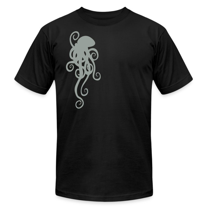 Simple Octopus - Men's Fine Jersey T-Shirt