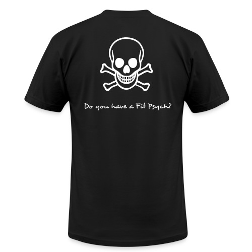Fit Psych - Do you have a Fit Psych - Skulls - Men's Fine Jersey T-Shirt