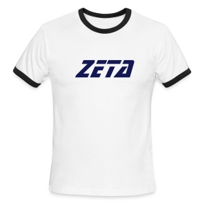 Zeta Retro Skool Shirt (White) - Men's Ringer T-Shirt