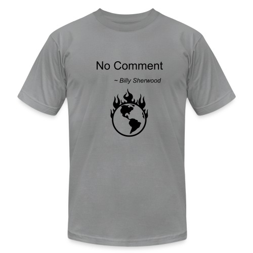 No Comment  - Men's Fine Jersey T-Shirt