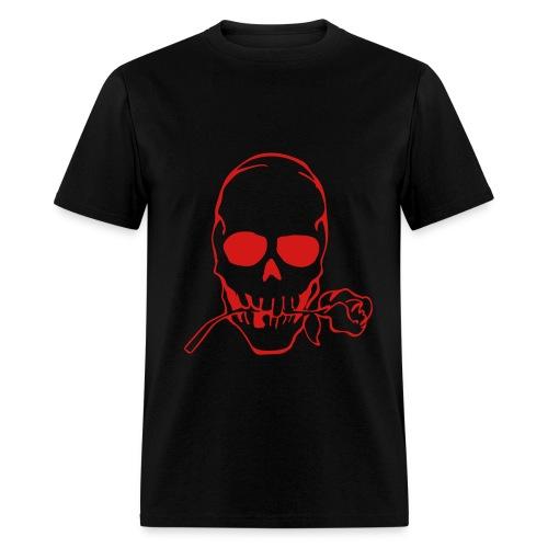 Skull rose-red - Men's T-Shirt