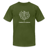 T-Shirts ~ Men's T-Shirt by American Apparel ~ Tree of Life: Olive
