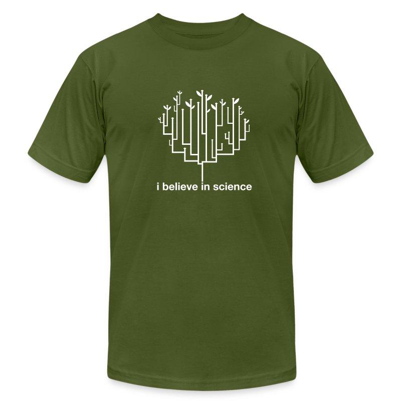 Tree of Life: Olive - Men's Fine Jersey T-Shirt
