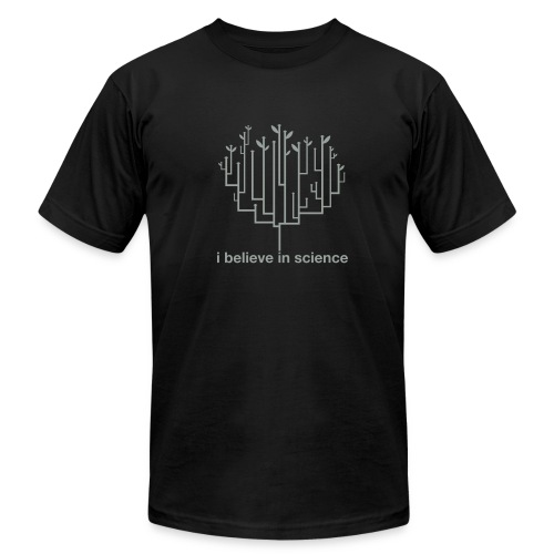 Tree of Life: Black - Men's T-Shirt by American Apparel