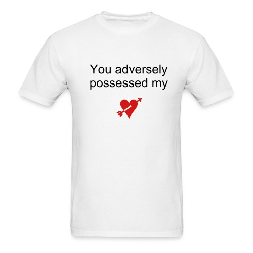 Adverse Possession - Men's T-Shirt