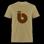 T-Shirts ~ Men's T-Shirt ~ Buzzout Khaki