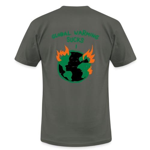 Global Warming - Men's Fine Jersey T-Shirt