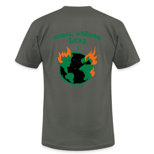 Global Warming - Men's  Jersey T-Shirt