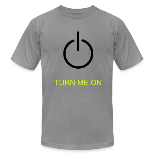 Turn on - Men's Fine Jersey T-Shirt