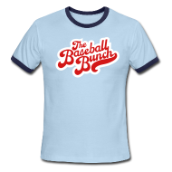 T-Shirts ~ Men's Ringer T-Shirt ~ The Baseball Bunch 2-Color Retro Ringer T-Shirt