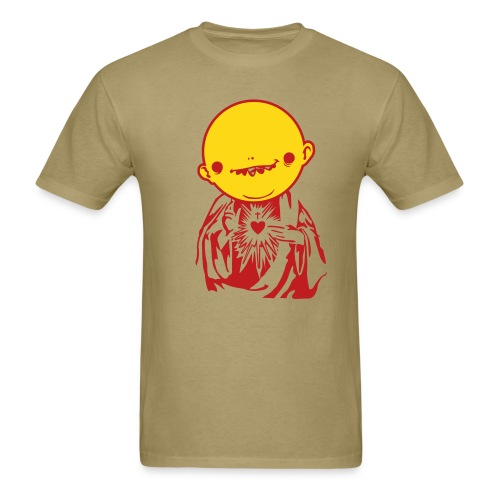Jesus Head w/ Khaki - Men's T-Shirt