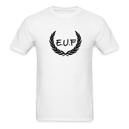 White-Black/EUF - Men's T-Shirt