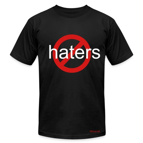 no haters - Men's  Jersey T-Shirt