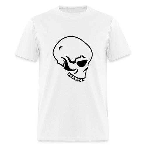 White Skull Tee - Men's T-Shirt