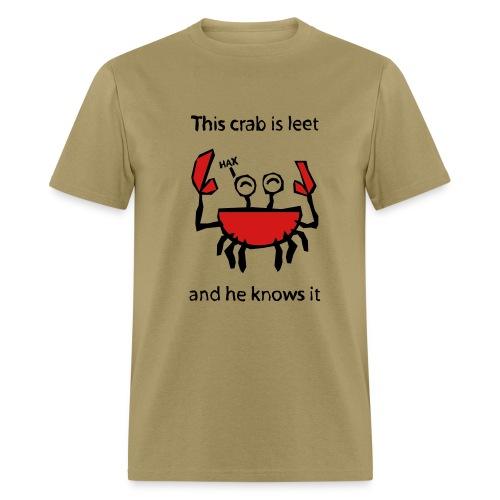 Tan Crab Tee - Men's T-Shirt