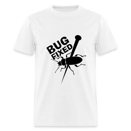 White Bug Fixed Tee - Men's T-Shirt
