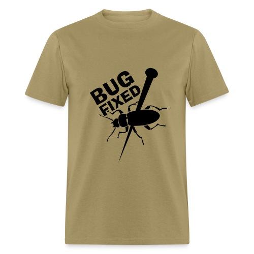 Tan Bug Fixed Tee - Men's T-Shirt