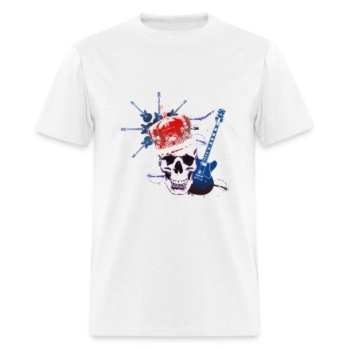 White BandTee - Men's T-Shirt