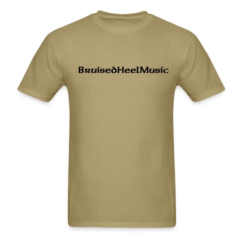 Bruised Heel Music 100% Cotton Tee - Men's T-Shirt