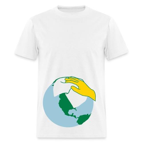 clean world - Men's T-Shirt