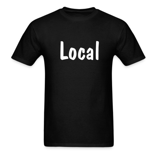Men's T-Shirt - announce your local-ness