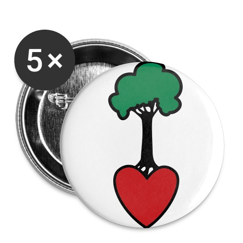 Tree Lover Button - Small Buttons