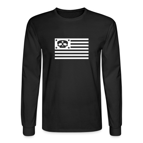 bandiera morte - Men's Long Sleeve T-Shirt