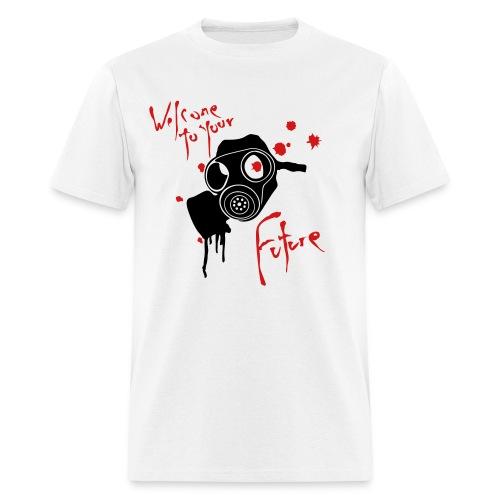 gas mask funky fresh... - Men's T-Shirt