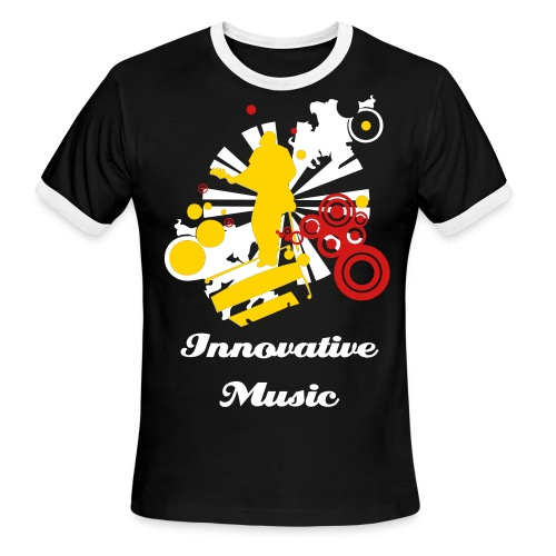 Innovative Music e-Ringer - Men's Ringer T-Shirt