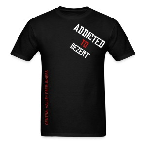 addicted to dezert - Men's T-Shirt