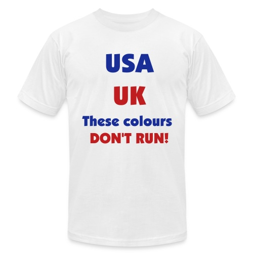 Colours That Don't Run! - Men's  Jersey T-Shirt
